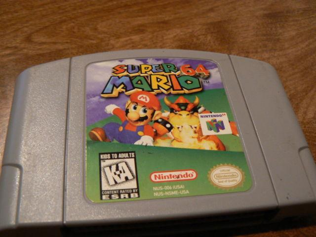Nintendo Super Mario 64 Game Cartridge for N64 Console
