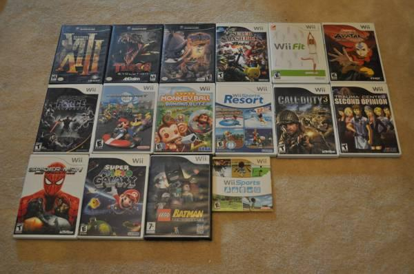 Nintendo Wii Bundle, games, controllers, extras, spares