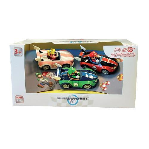 Nintendo Wii Mario Kart Action Figures 3-Pack