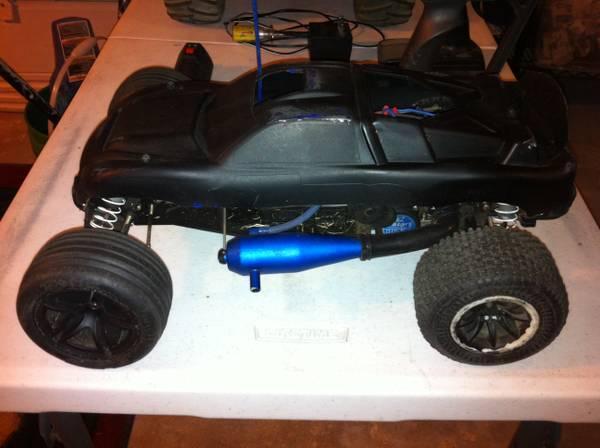 nitro RC car  truck  parts - $350