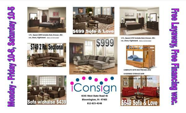 No Credit Financing For Sectionals Sofa Love Bedroom Furniture For Sale In Bloomington