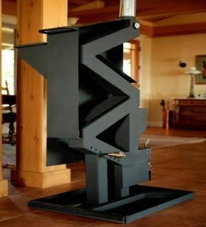 Non Electric Gravity Fed Pellet Stove For Sale In Lake