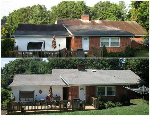 Non Pressure Roof Cleaning House Wash Services Gutter Filters In Park Virginia Classified