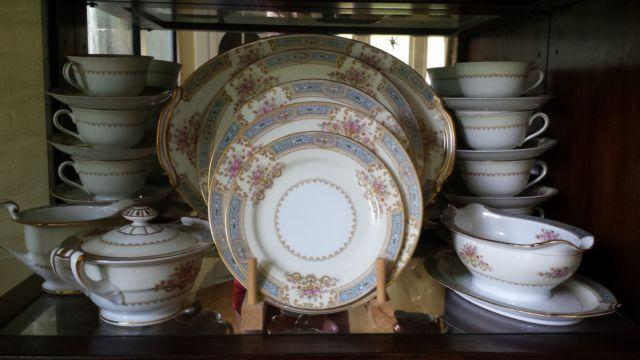Noritake fine china made in occupied Japan