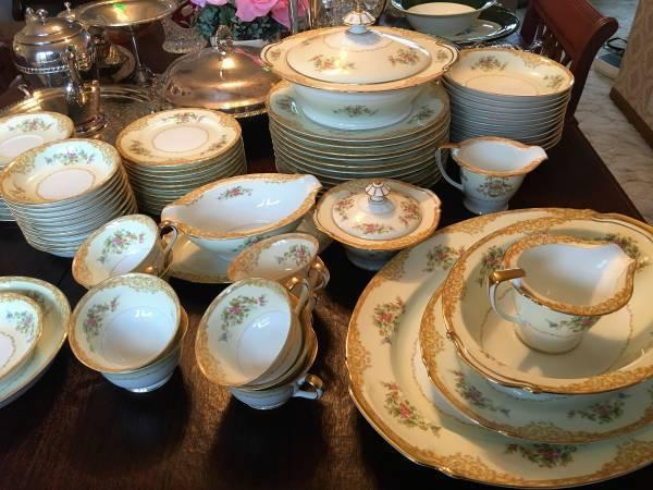 Noritake Fine China Set Service For 12 For Sale In Antioch Illinois