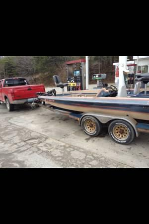 Norris craft bass boat lake ready perfect for sale in for Norris craft boats for sale