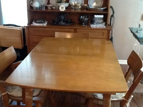 Northwest Chair Company Antique Dining Set 800