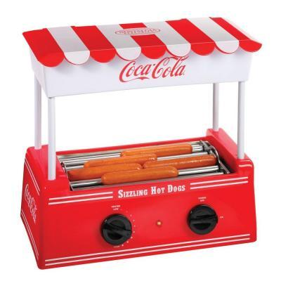 Nostalgia Electrics Coca Cola Series Hot Dog Roller For