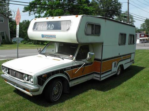 NOW REDUCED-1977 Toyota Enterprise Camper RV