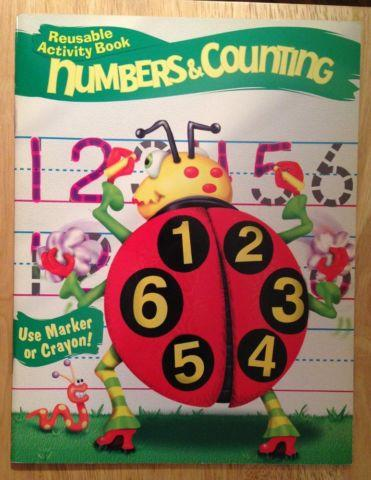 Numbers & Counting (Highq! Reusable Activity Books)