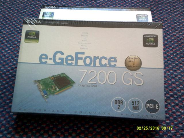 NVIDIA e-GeForce 7200GS graphic card, Creative Spectre