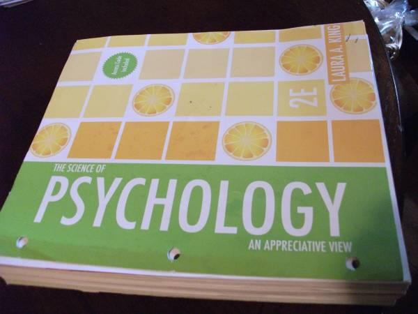NWFSC Math and Psychology Books - $50