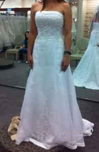 Nwt Davids Bridal Wedding Gown Abilene For Sale In