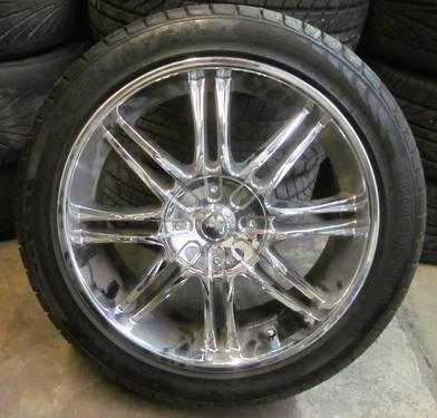 Buy Here Pay Here Tampa >> NZO 18 INCH CHROME RIMS 5 LUGS for Sale in Tampa, Florida Classified | AmericanListed.com