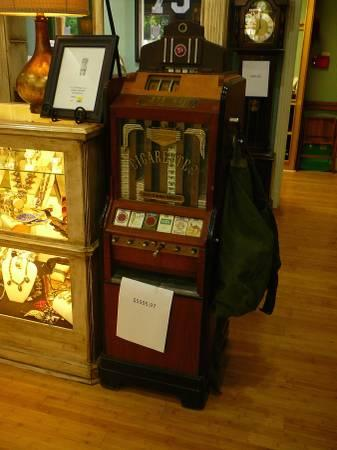 Slot machines for sale antiques legal gambling age in atlantic city