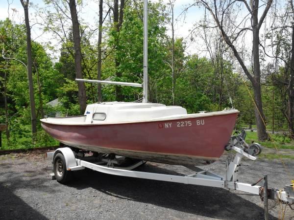 O'Day Mariner Sailboat 19' - $1600
