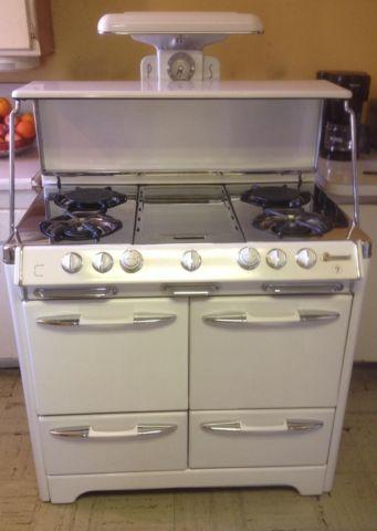 O Keefe Amp Merritt Double Oven Double Broiler Stove For
