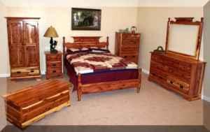 Cedar Bedroom Suite. 1930 s art deco waterfall 8 piece bedroom set ...
