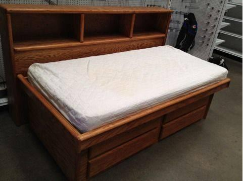 Oak Captain Twin Beds for Sale in Jamesburg New Jersey