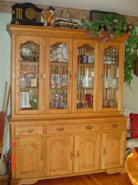 Oak China Cabinet For Sale In Berea Kentucky Classified
