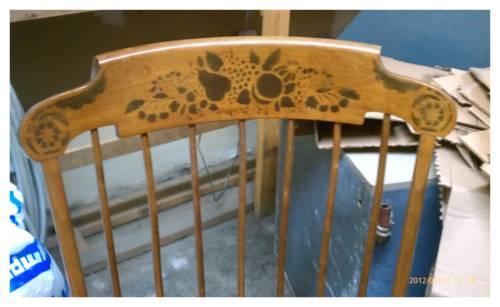 Oak Cracker Barrel Porch Rocker For Sale In Baltic Connecticut Classified