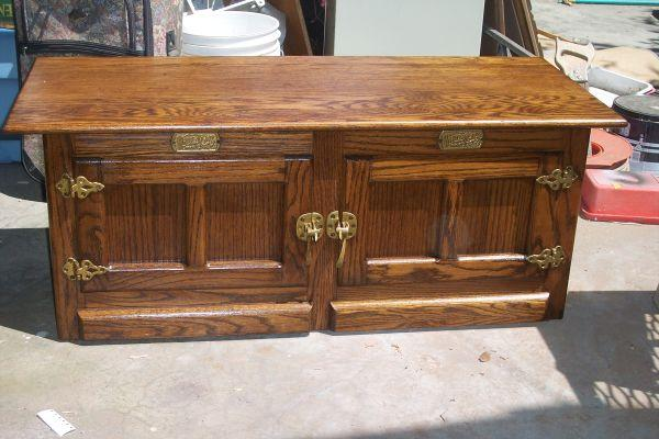 Oak Ice Box New And Used Furniture For Sale In The USA   Buy And Sell  Furniture   Classifieds   AmericanListed
