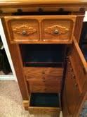Oak Jewelry Armoire - $225 Anchorage