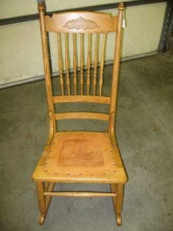 Oak Rocking Chair - for Sale in Cold Spring, Minnesota Classified ...