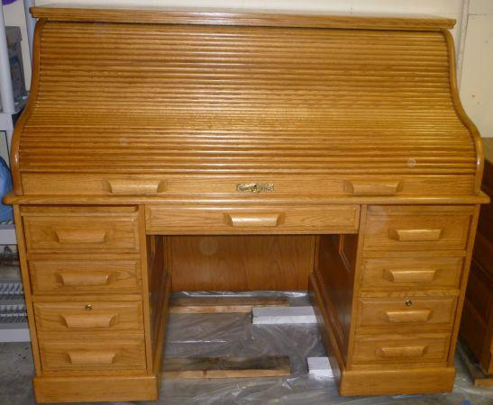 Oak Roll Top Desk For Sale In Pacifica California