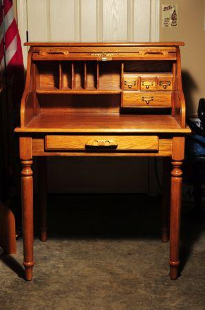 Oak Roll Top Desk Southern Indiana For Sale In