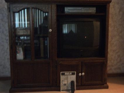Oak Solid Wood Entertainment Center For Sale In Deltona