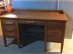 Oak Teacher 39 S Desk Virginia Mn For Sale In Duluth Minnesota Classified