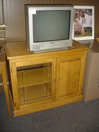 Oak Tv Stand Swivel Top For Sale In Winter Haven