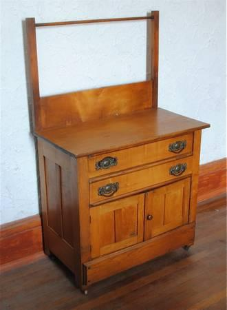 Antique Wash Stand With Towel Bar Clifieds Across The Usa Americanlisted