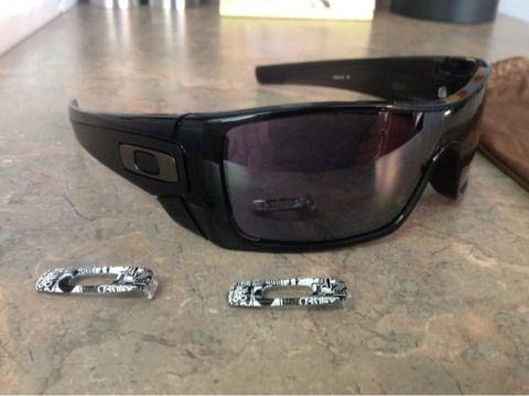 cf9827eb797 Oakley BatWolf Sunglasses gloss matte black - (Tuscaloosa ) for Sale ...