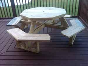 Octagon Picnic Table Lakewood Ny For Sale In