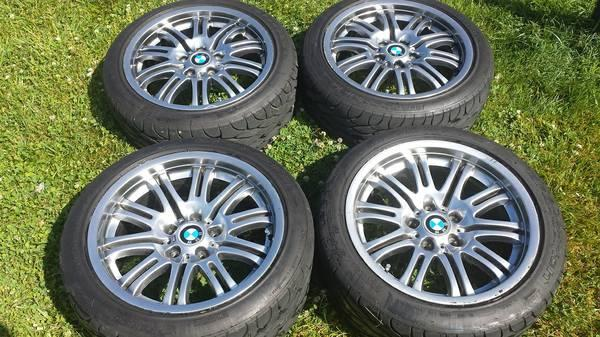 OEM BMW 2001-2006 E46 M3 Wheels with New Tires - $780