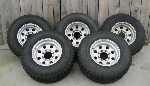 OEM Ford Truck Rims Tires - $450