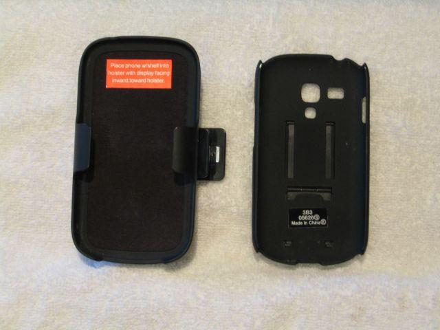 OEM Verizon Galaxy S3 Mini Shell Holster Case