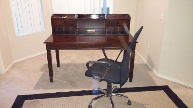 Office Desk W Office ChairAshley FurnitureExcellent