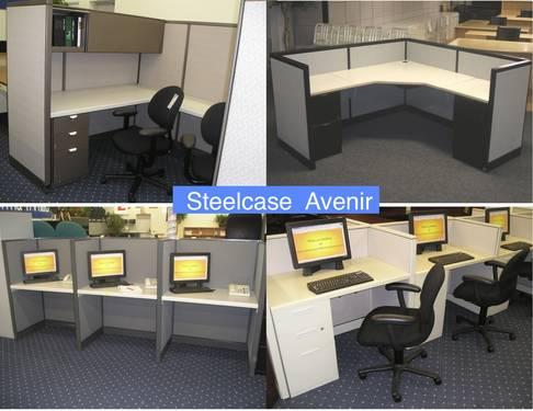 Office Furniture Of Long Island Cubes Desks