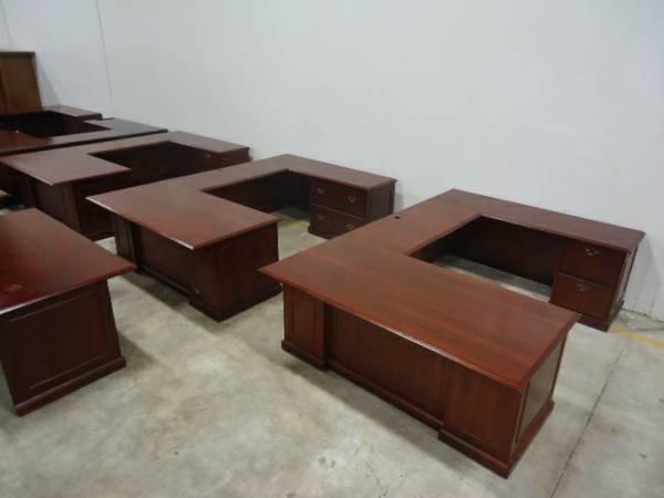 office furniture u shape desk national indiana desk office