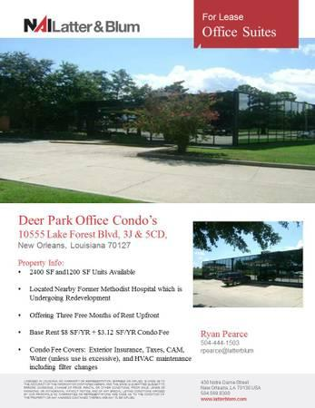 Office Suites For Lease