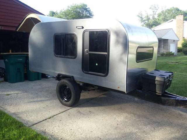 Offroad Teardrop Camper Ready For Off Grid