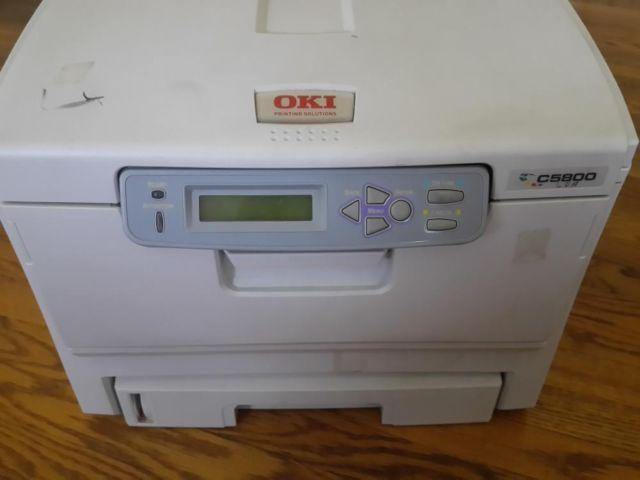 C5800 OKI PRINTER DRIVER PC
