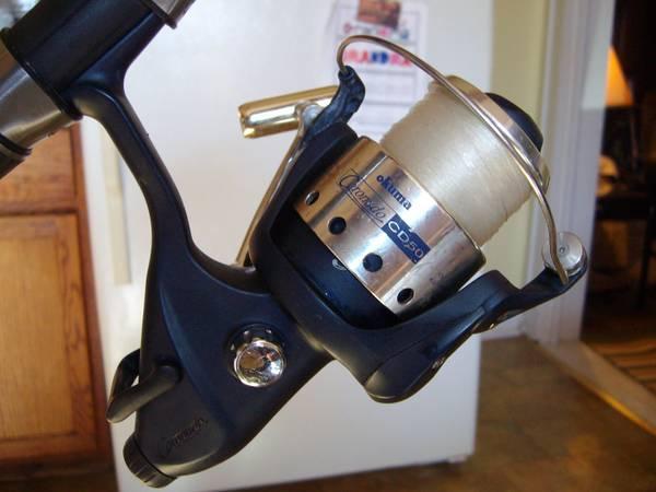 Okuma baitrunner reel power tip rod ec for sale in for Okuma fishing reels for sale