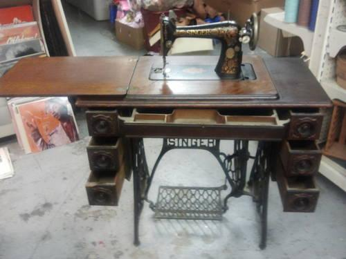 OLD 40 SINGER SEWING MACHINE CAST IRON FOOT PEDAL For Sale In New Enchanting 1910 Singer Sewing Machine For Sale