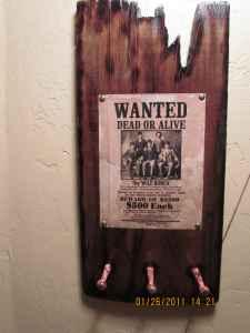 OLD BARN WOOD WESTERN WANTED SIGNS - (TERREBONNE) for Sale ...