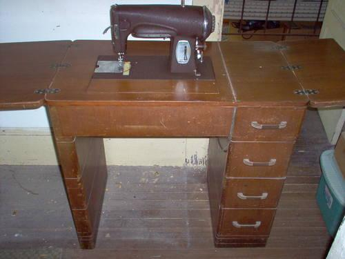 sewing machine cabinets for sale used