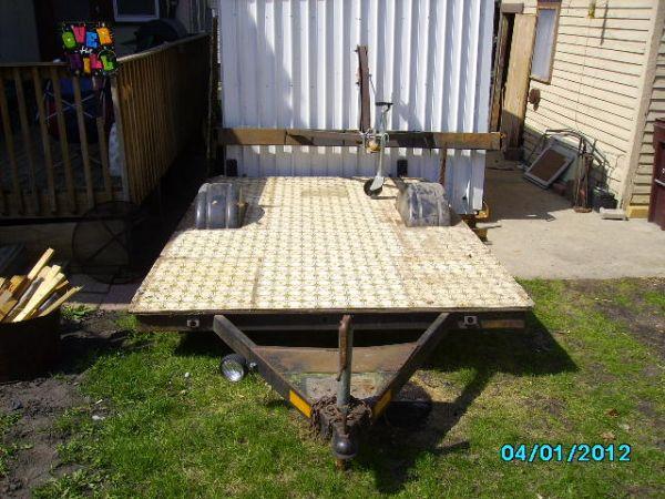 Old camper frame - $200 (Mankato)